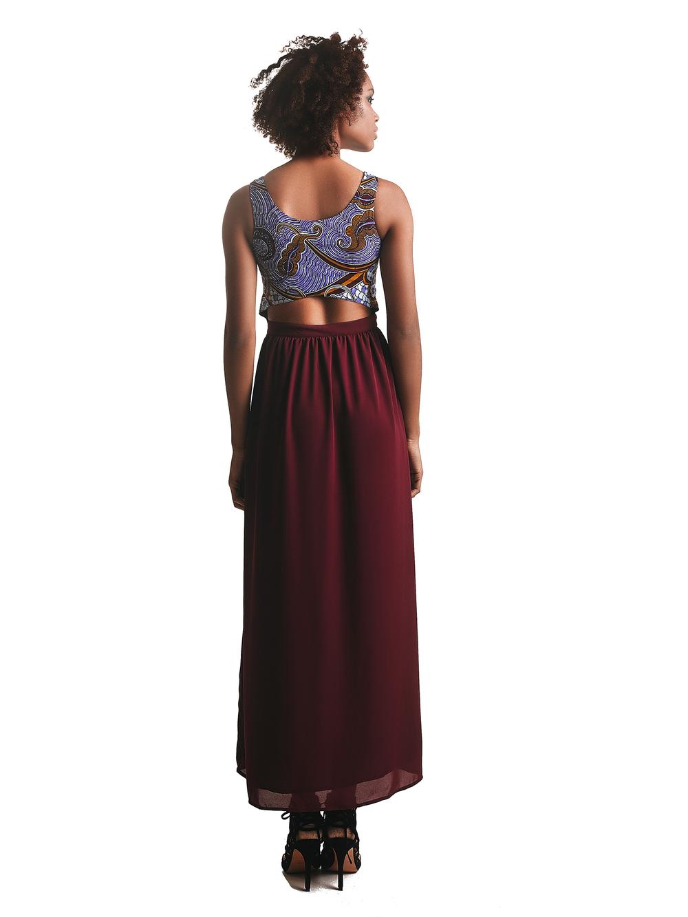 Vestido Maiombe Maxi