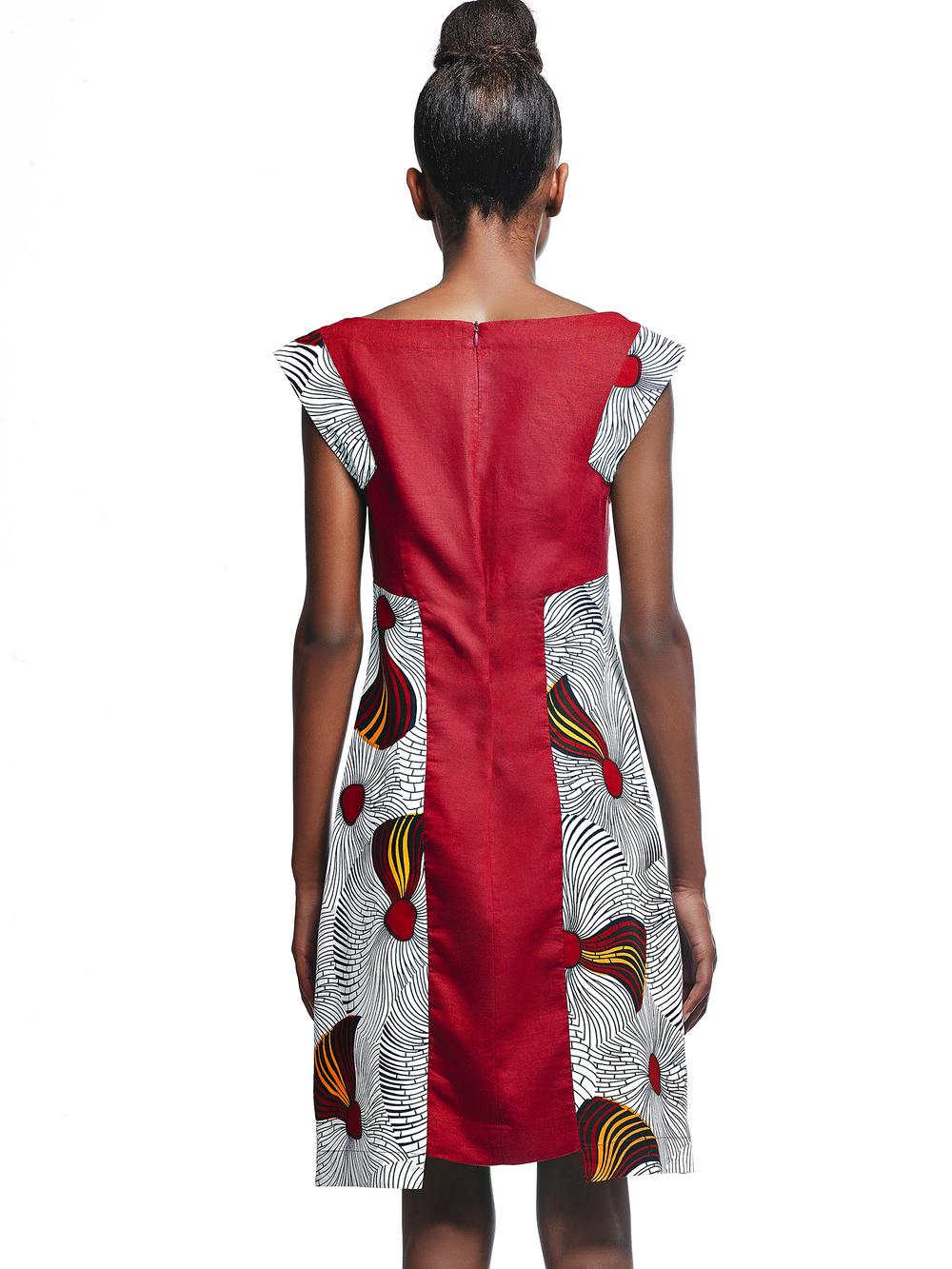 Vestido Tchicapa