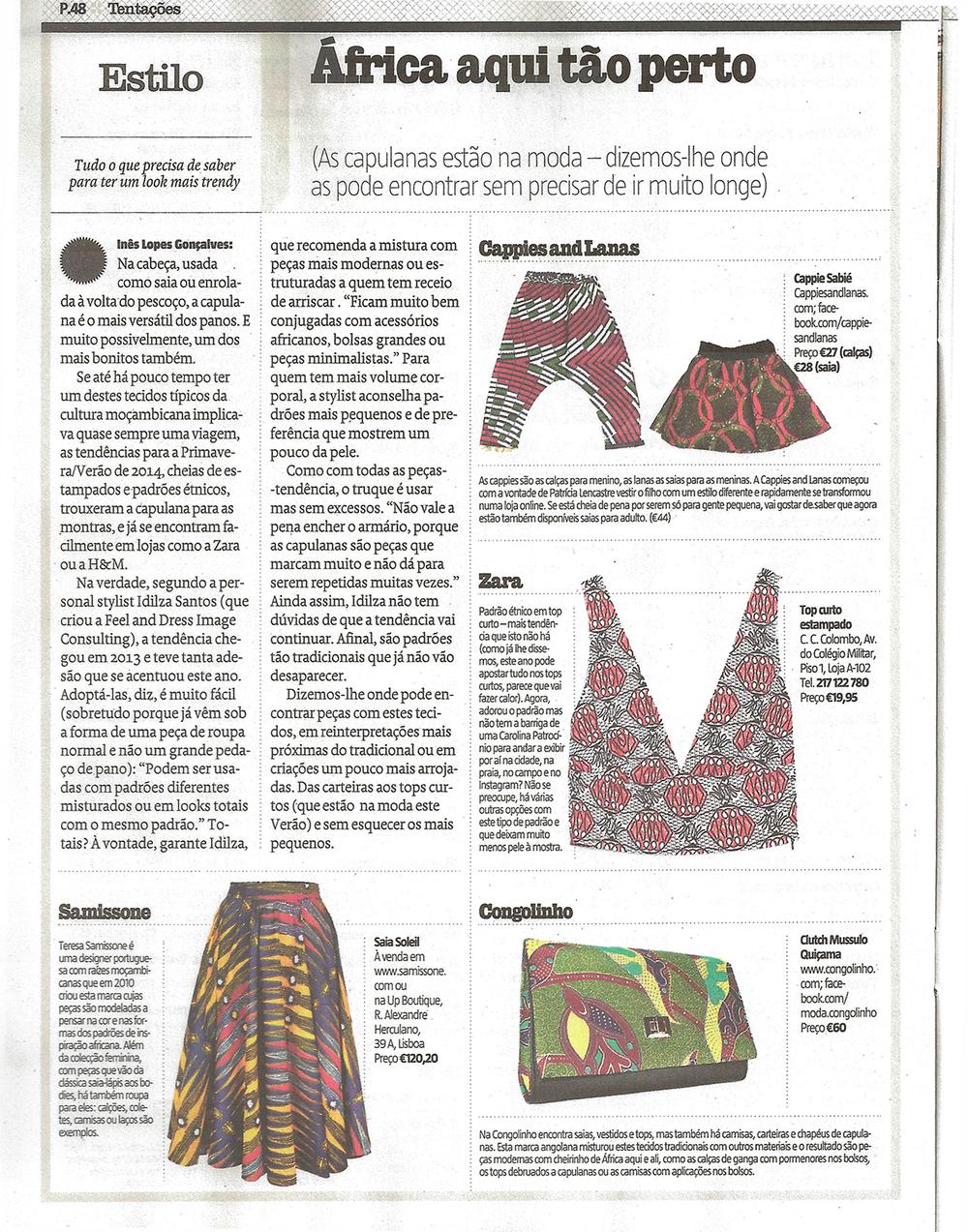 Revista Sábado, 30 Abril 2014