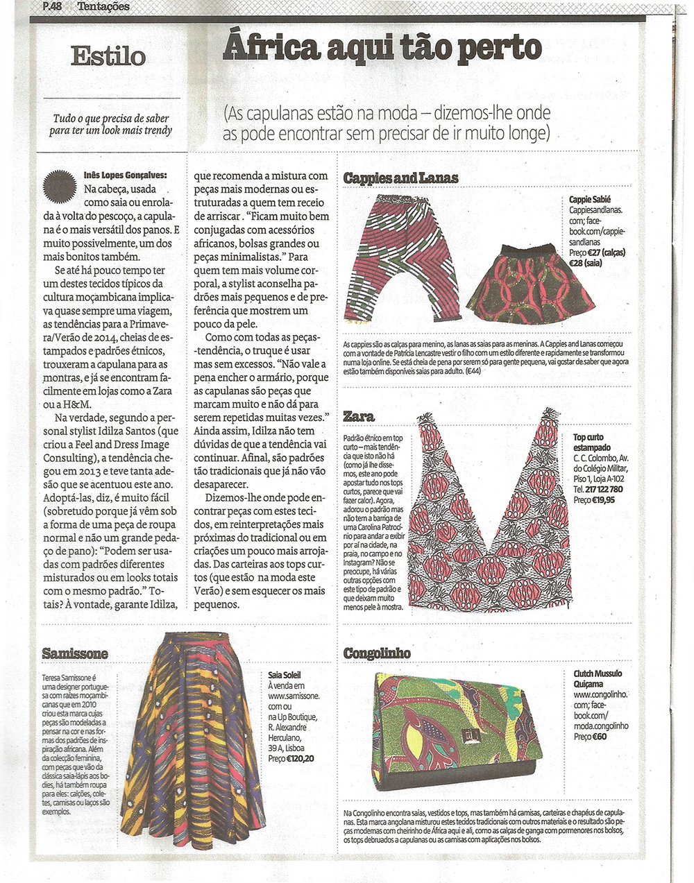 Revista Sábado, 30 Abril 2014