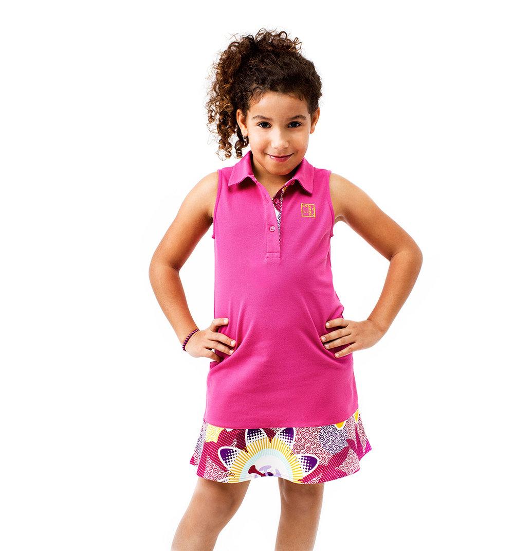 Vestido Menina Família SALDO