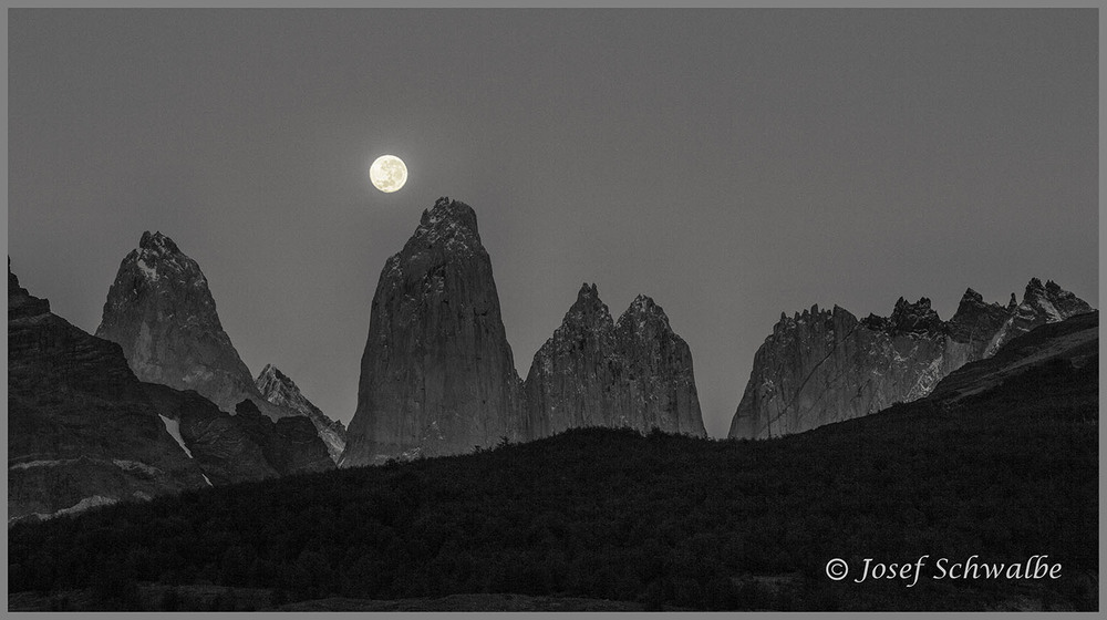 Moon Over the Towers