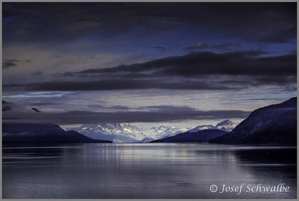 Entrance to Glacier Bay