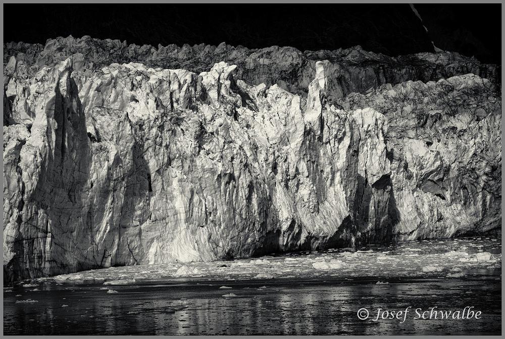 Face of Margerie Glacier