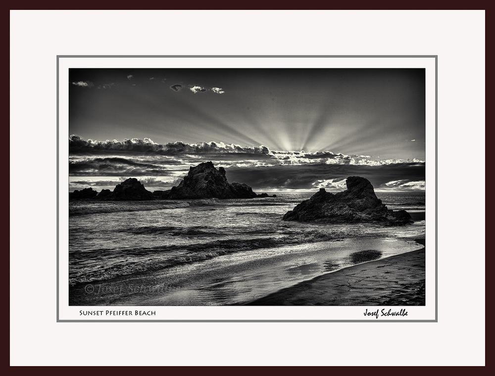Sunset Pfeiffer Beach