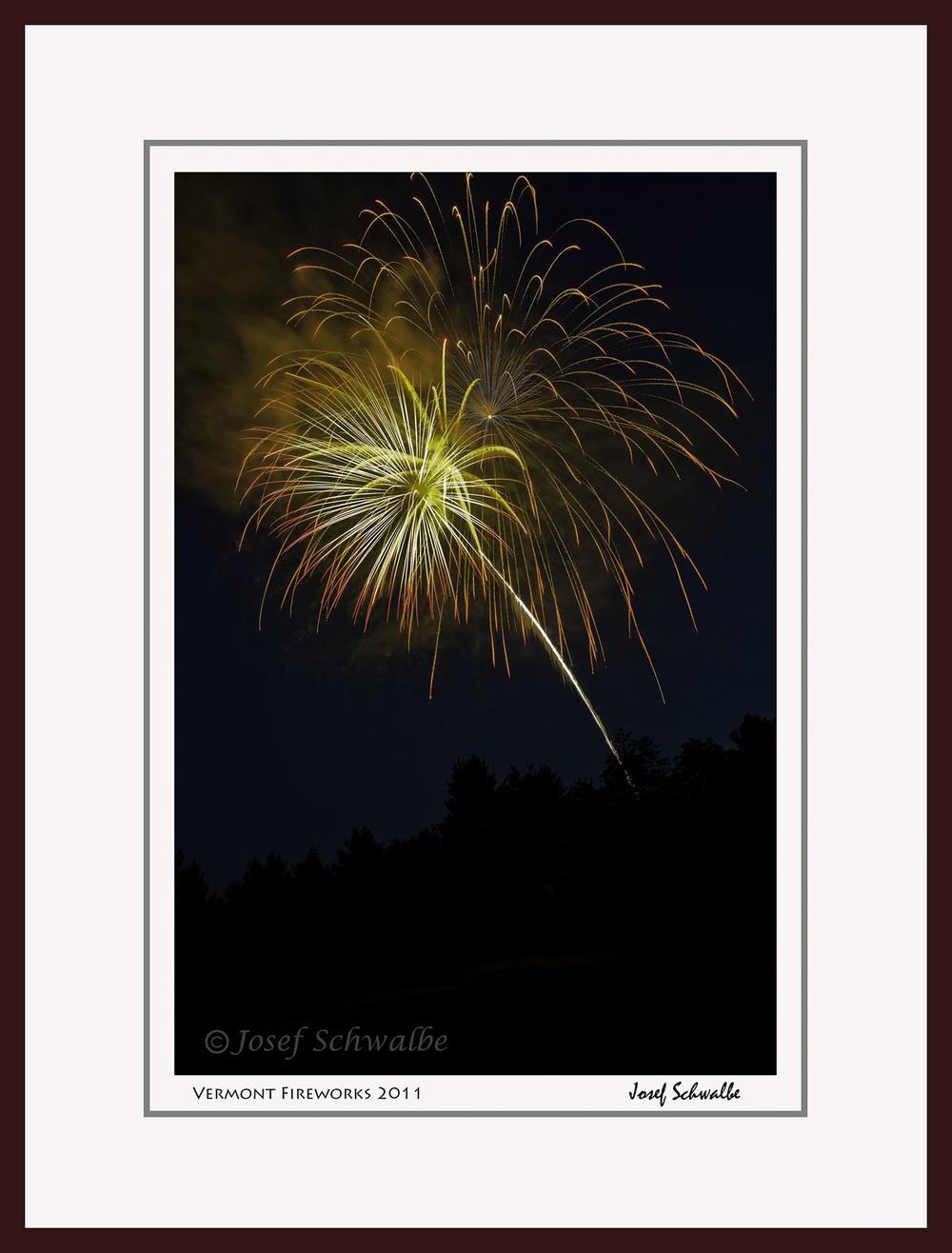 Vermont Fireworks 2011