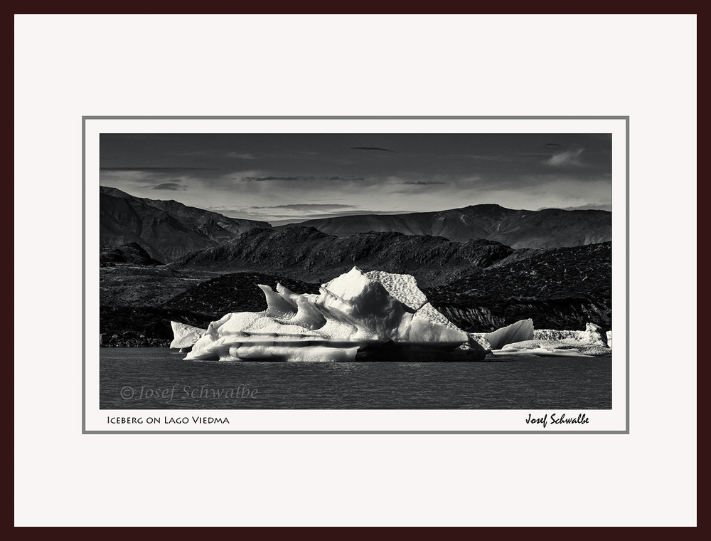 Iceberg On Lago Viedma