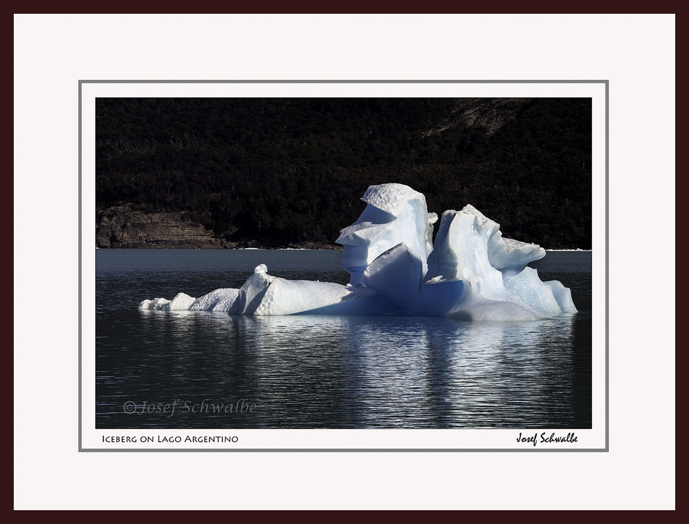 Iceberg on Lago Argentino