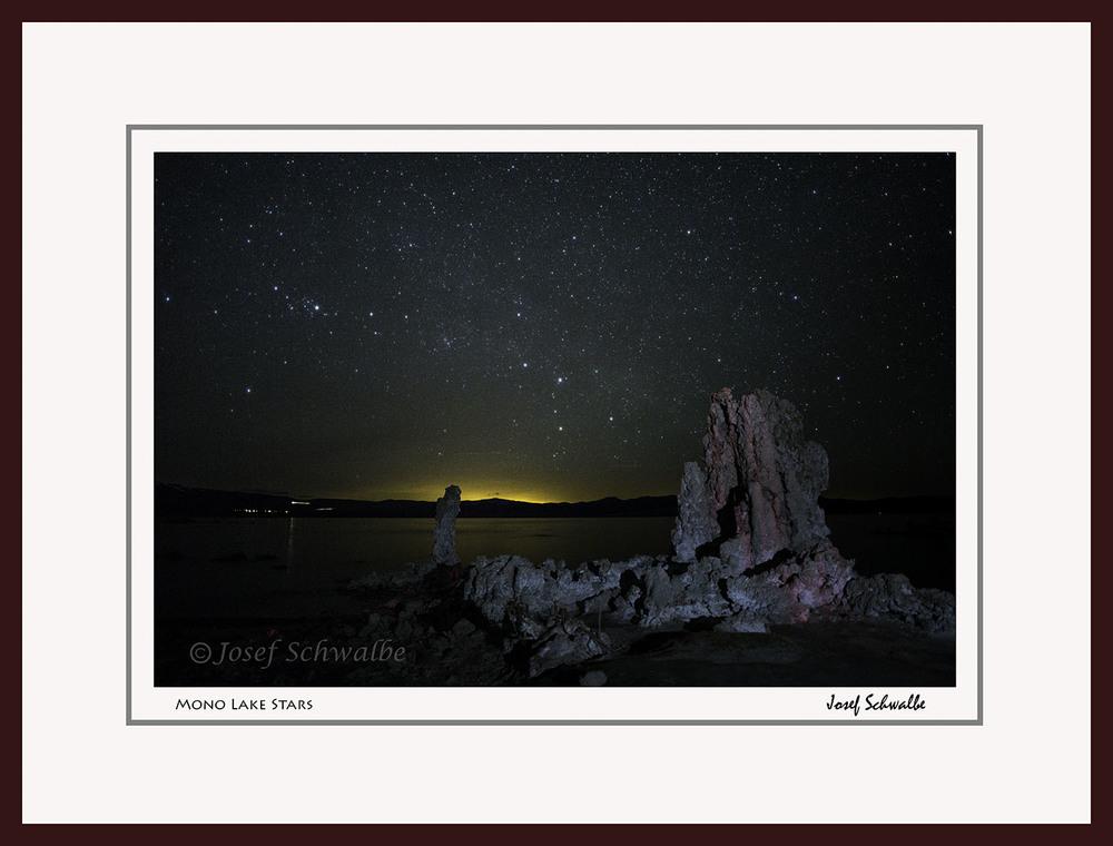 Mono Lake Stars