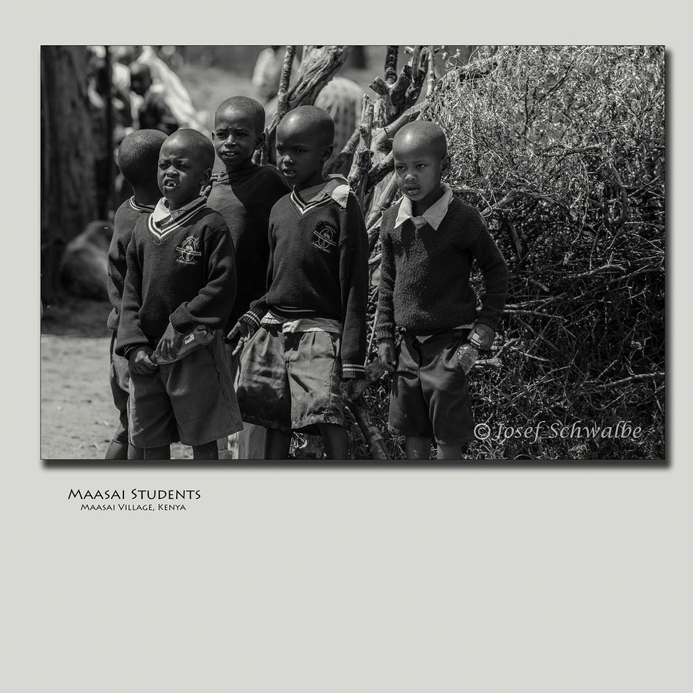 Maasai Students
