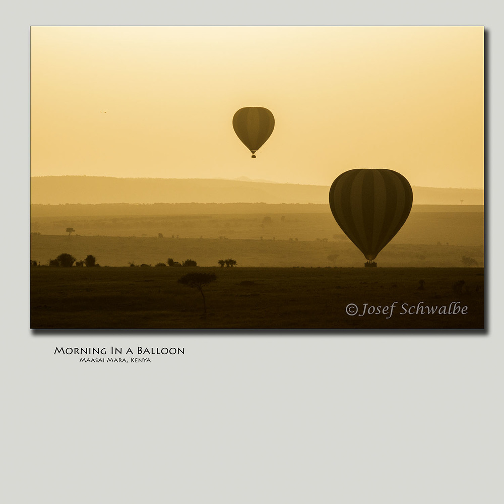 Morning In A Balloon