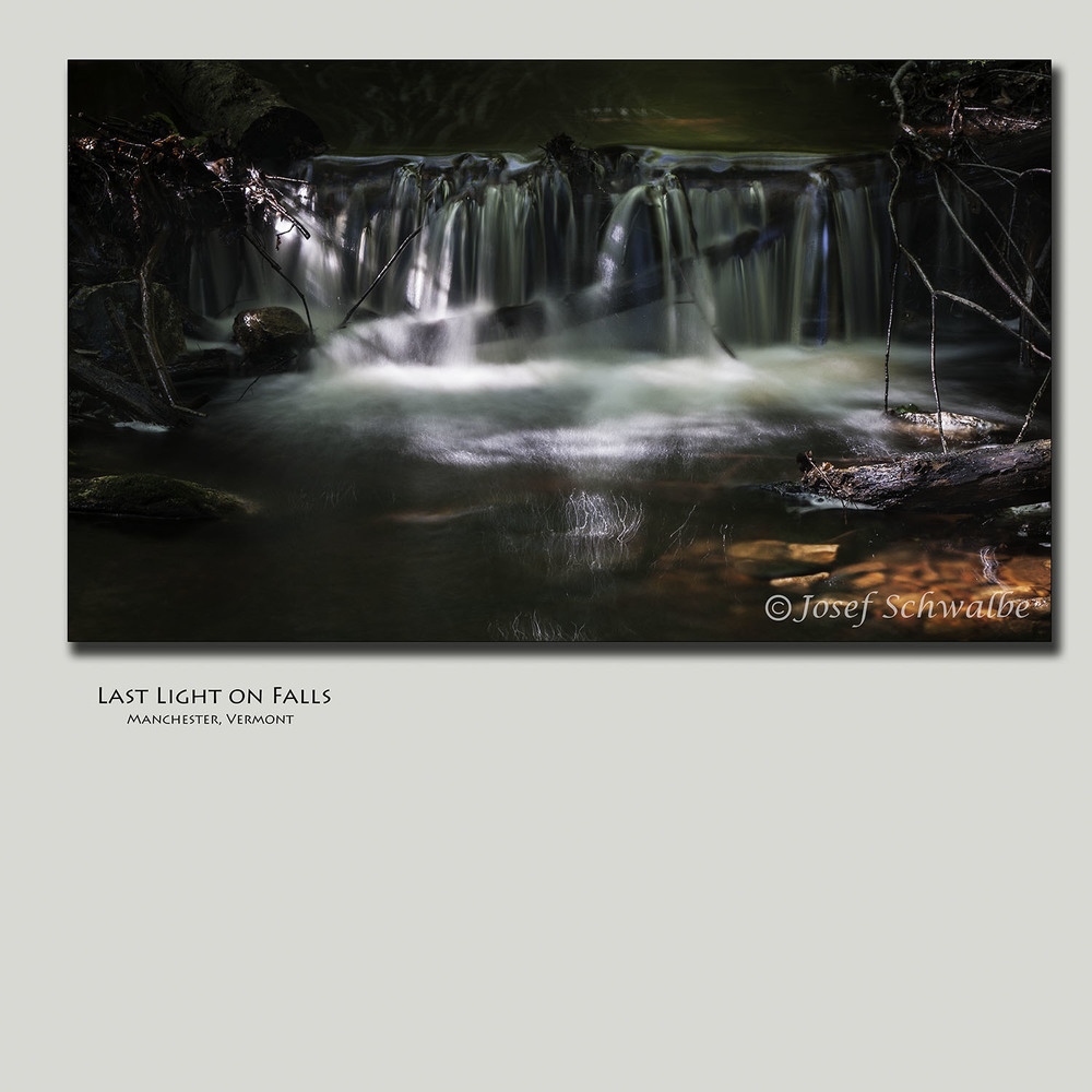 Last Light on Falls