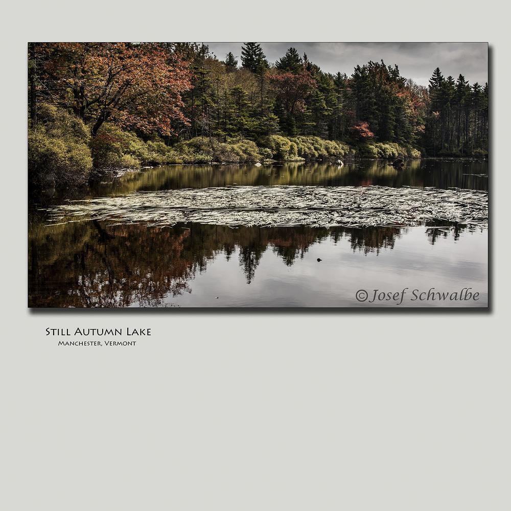 Still Autumn Lake