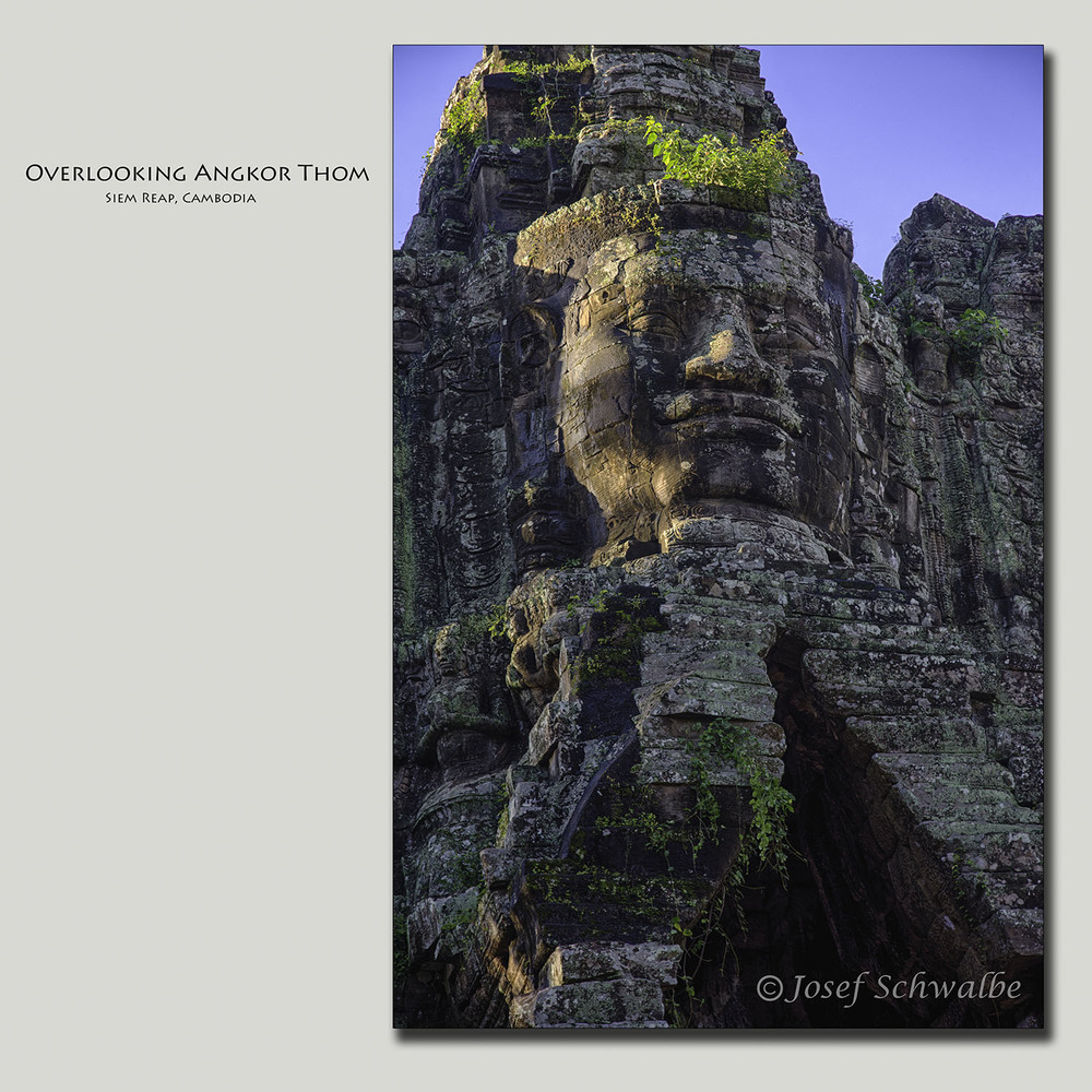 Overlooking Angkor Thom