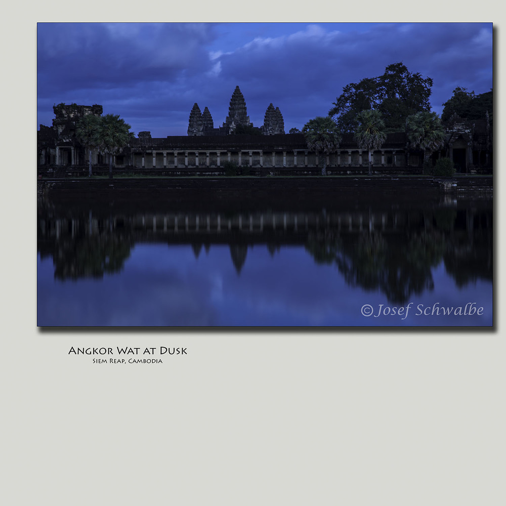 Angkor Wat at Dusk