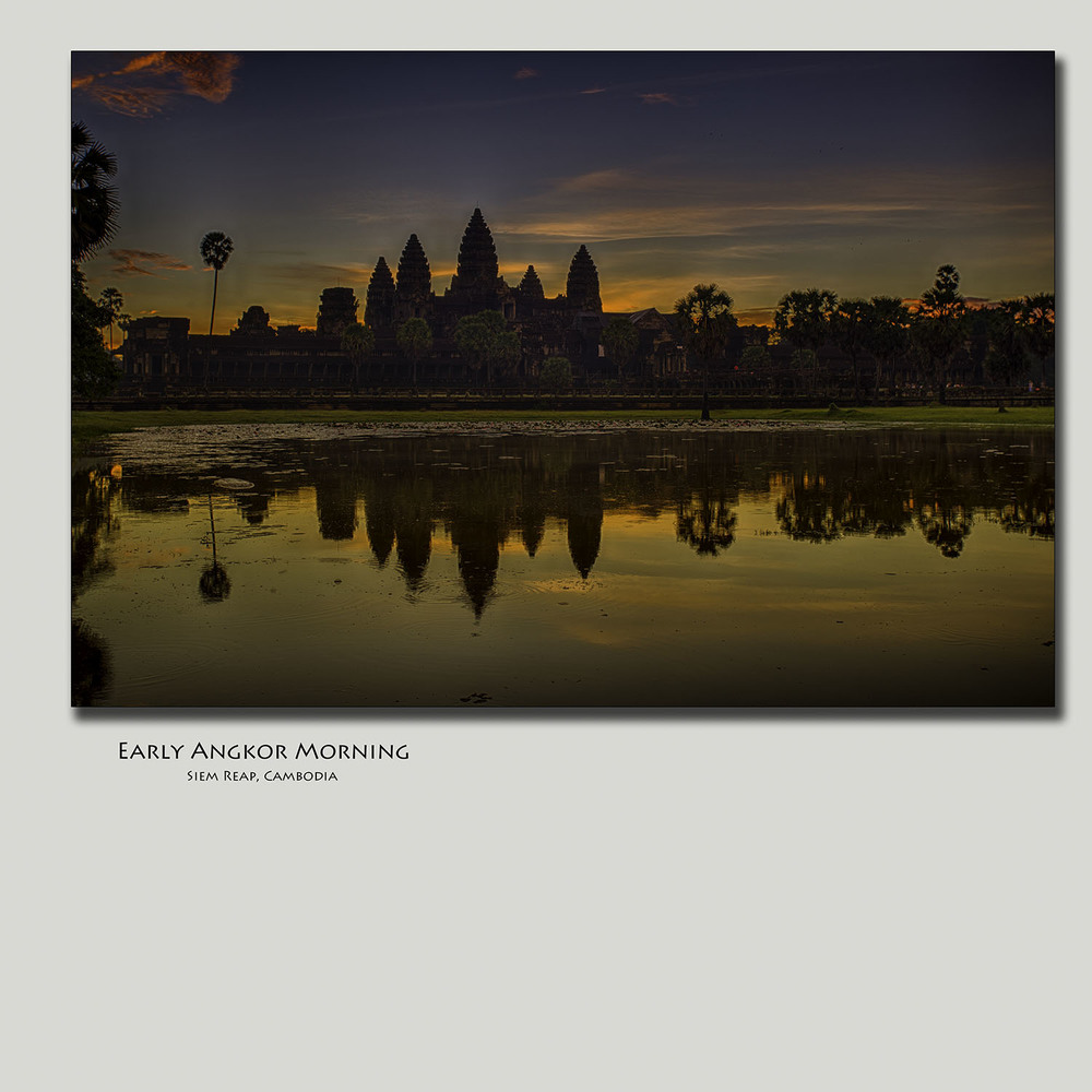 Early Angkor Morning