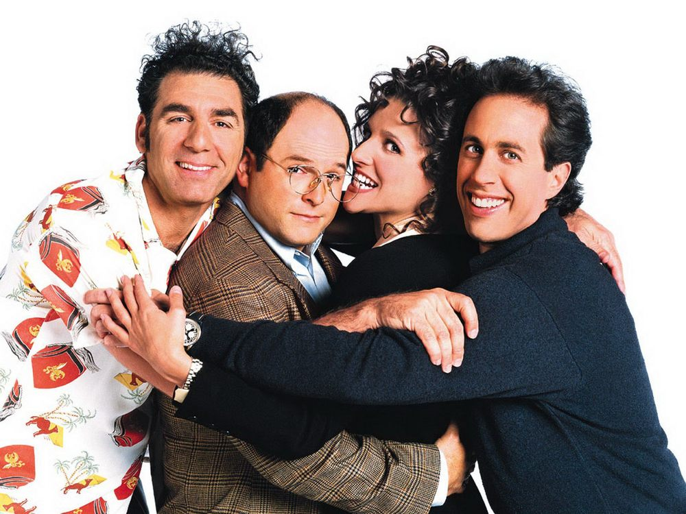 "Seinfeld is one of my favorite shows. I even named my dog Cosmo Kramer... ""You're soooooo good looking!"""