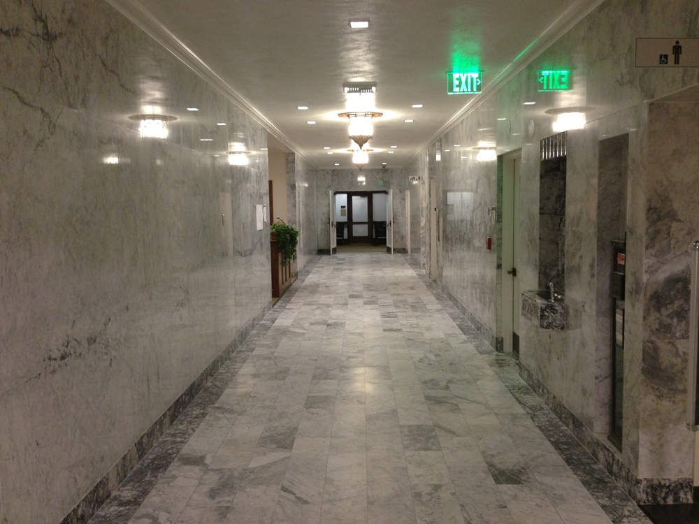 For millennia our public spaces have been cast in the timeless beauty of marble. The O'Brien Building, Washington State Capital
