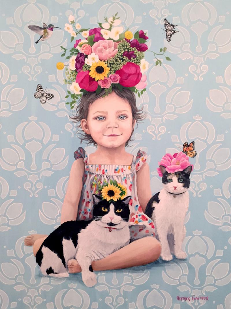 mayaandhercats.jpg