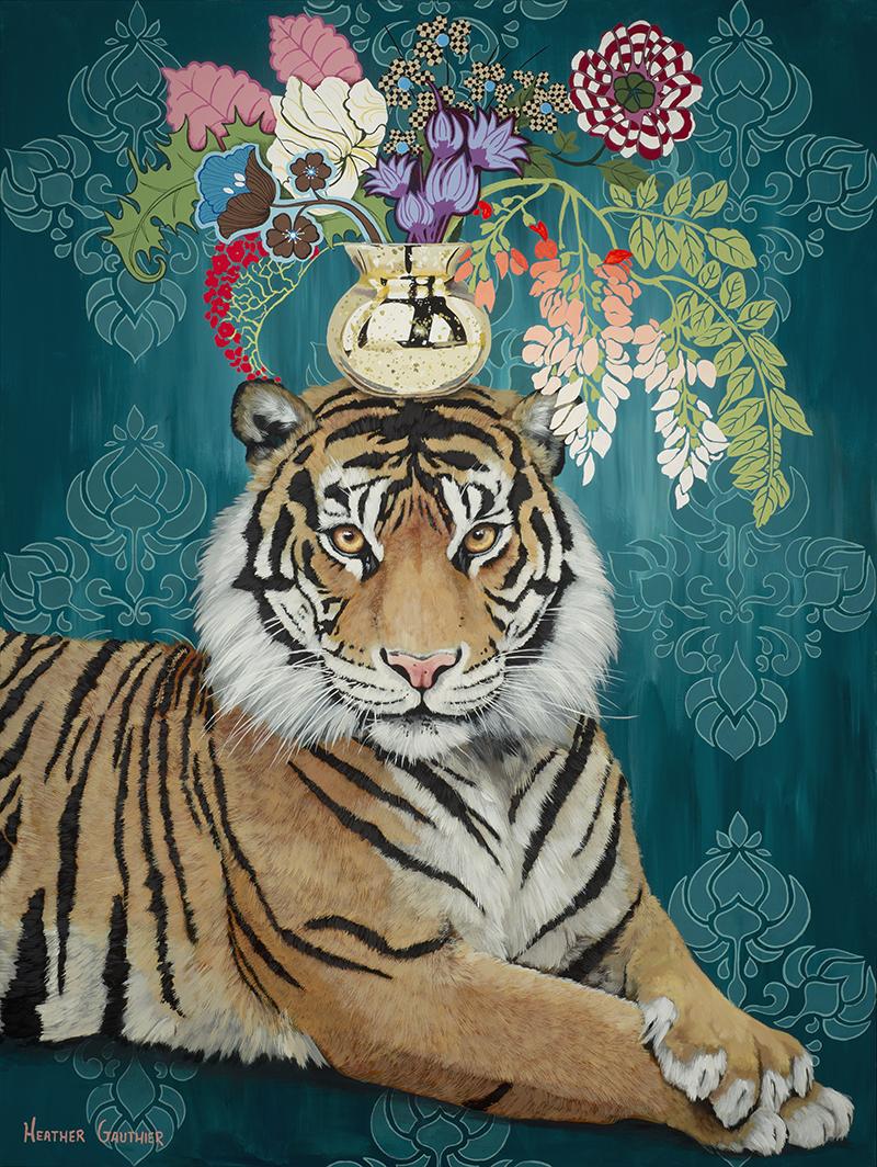 Paper Flower Tiger