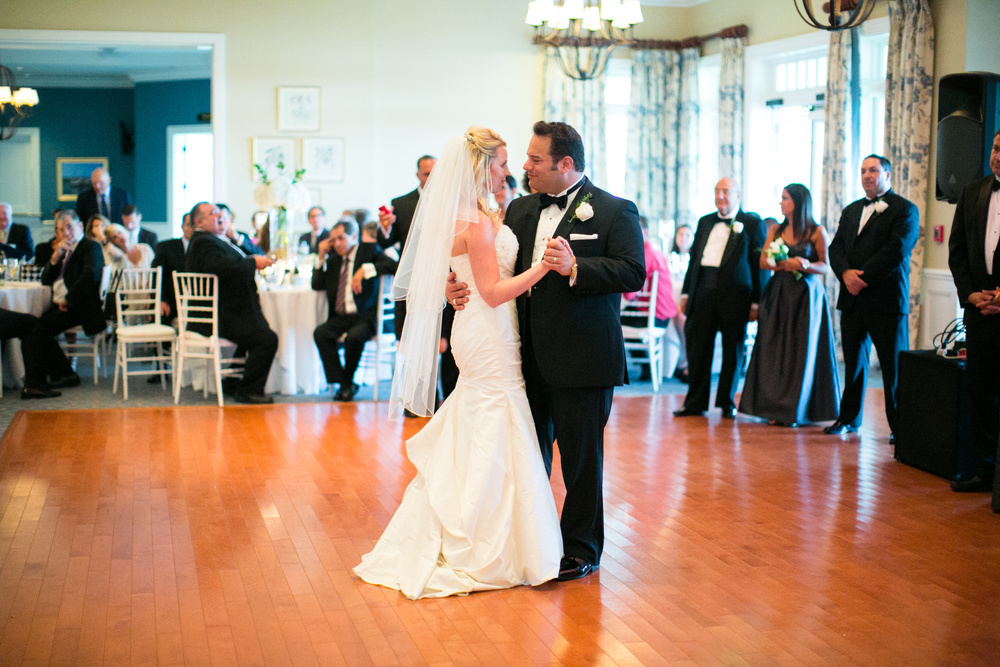 Michelle Barnett and Peter DiBona wedding on September 13, 2014. Photo by Paul Morse