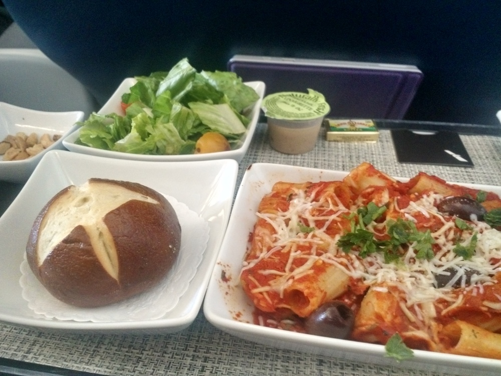 First Class Meal - Pasta with Spicy Sauce