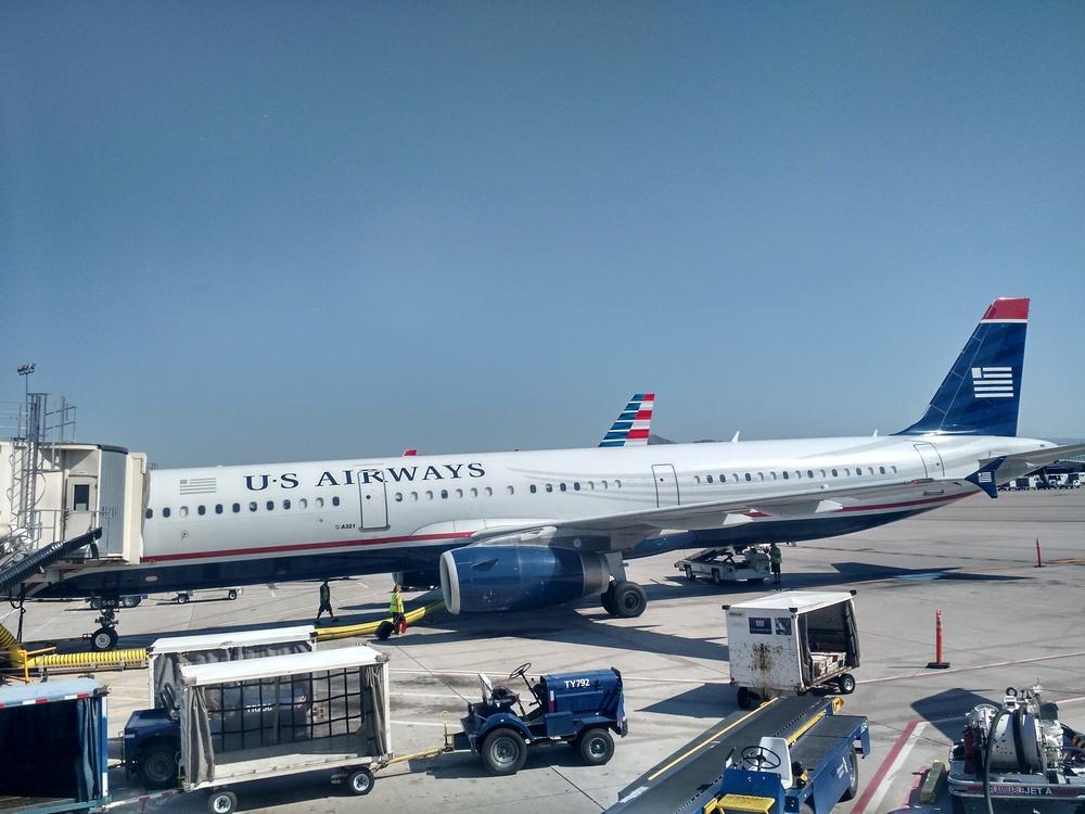 US Airways A321 in Phoenix (PHX)