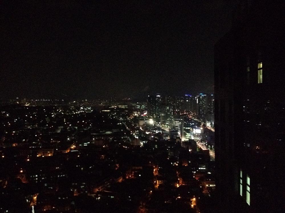 Night Falls on Seoul