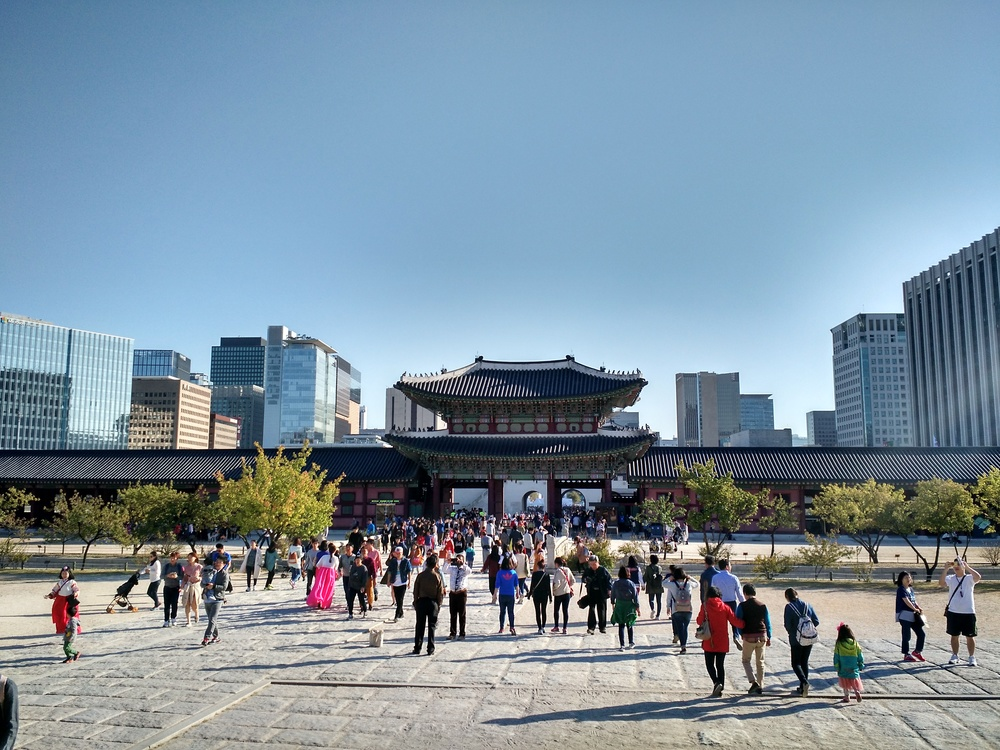 Gyeongbokgung Palace in the City of Seoul