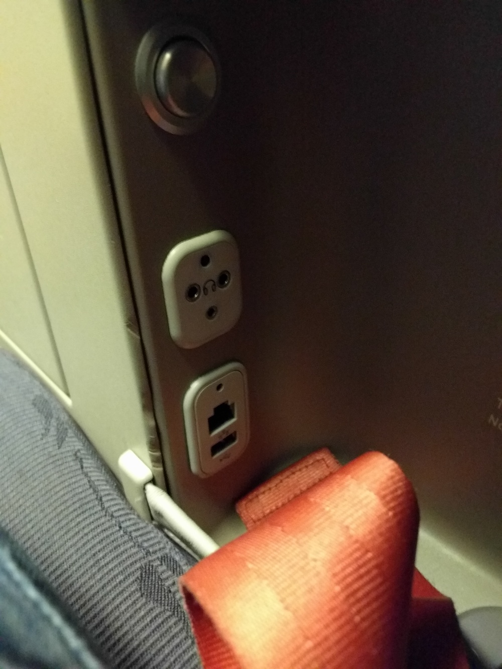 Connections Under The Right Armrest