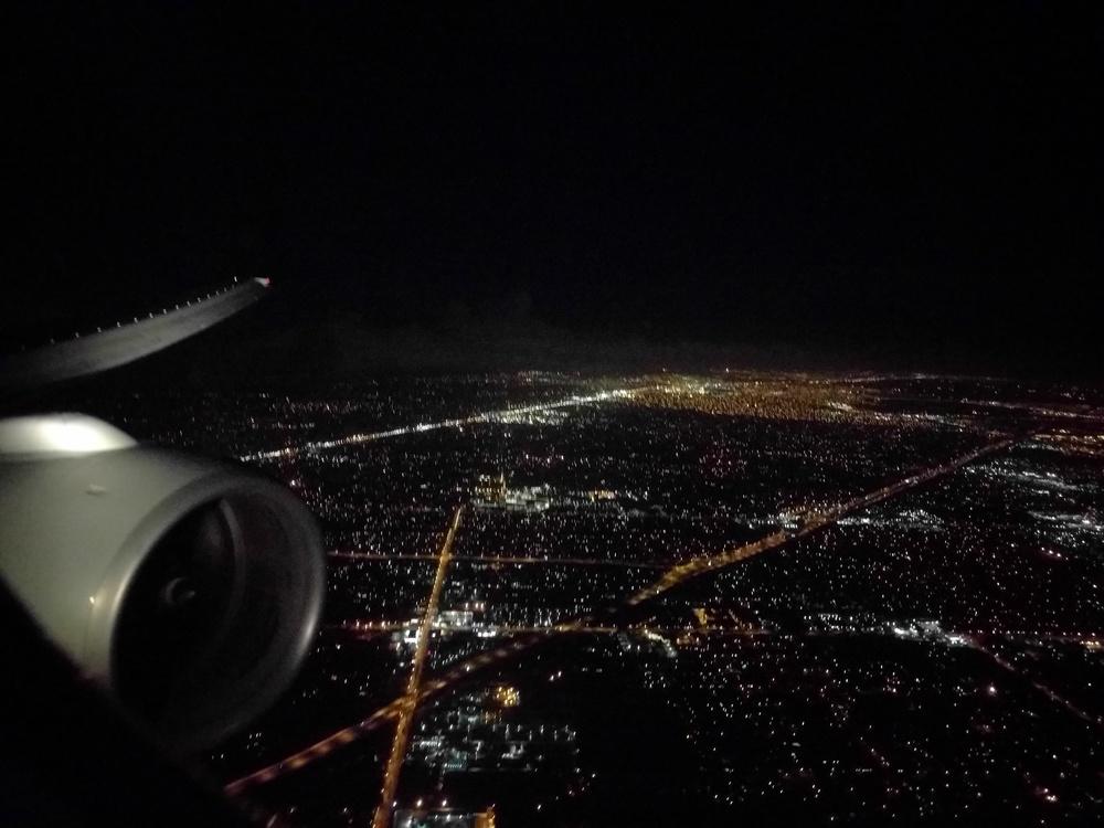 Landing in Miami