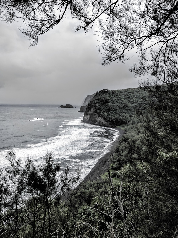 Rocky Shore of Pololu Valley