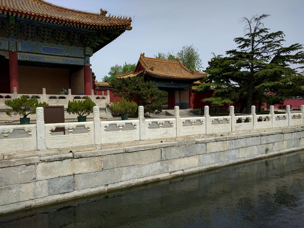 Buildings in Forbidden City