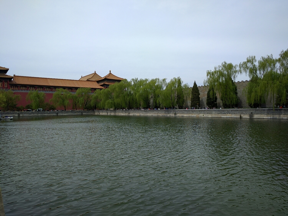 Walls of the central part of the Forbidden City