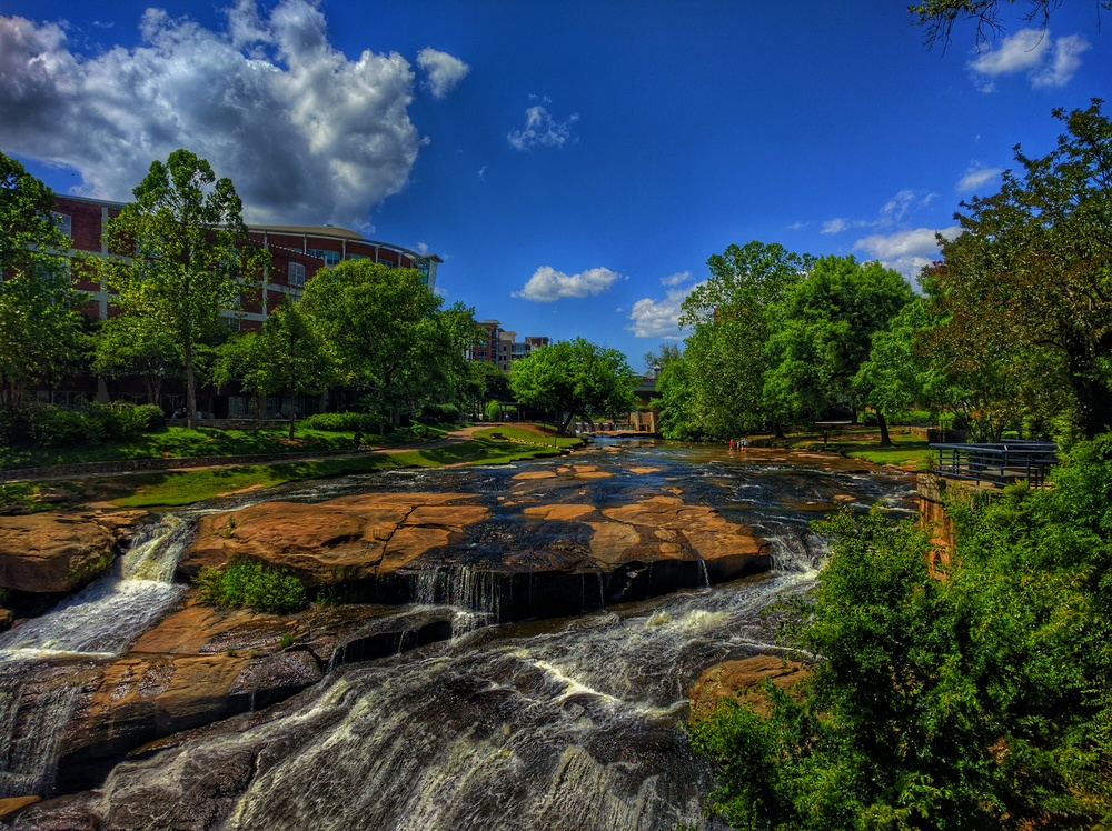 Reedy River - Downtown Greenville