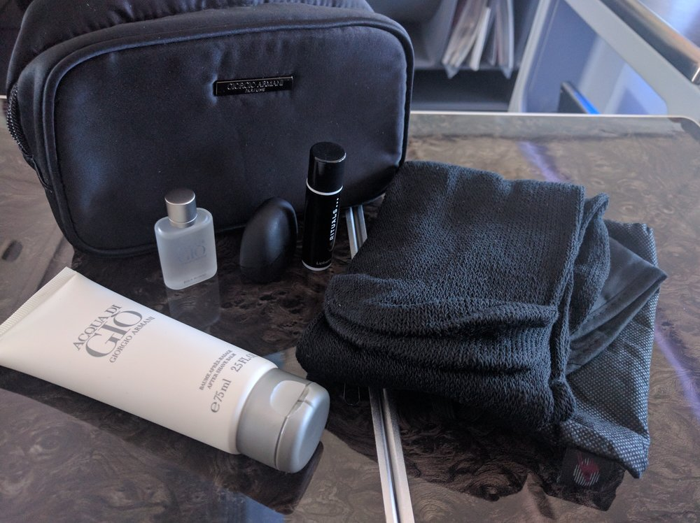 Qatar Business Class Amenity Kit