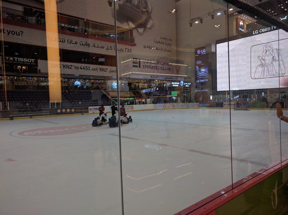 Dubai Mall Ice Rink