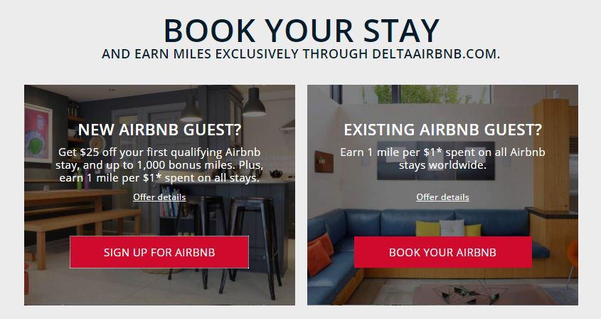 Delta Partners with Airbnb — Fly Vegetarian