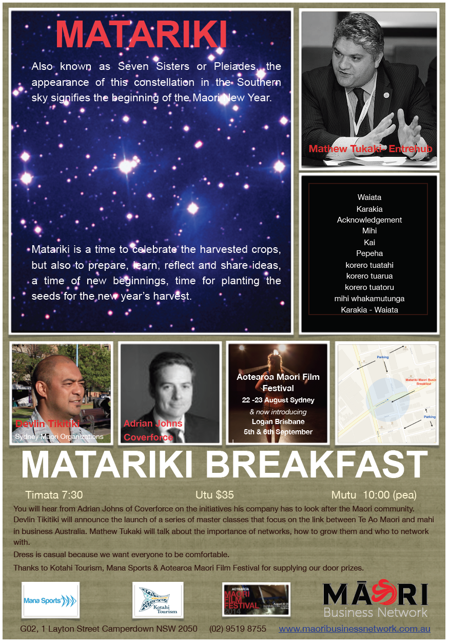 Matariki Breakfast order of service.png