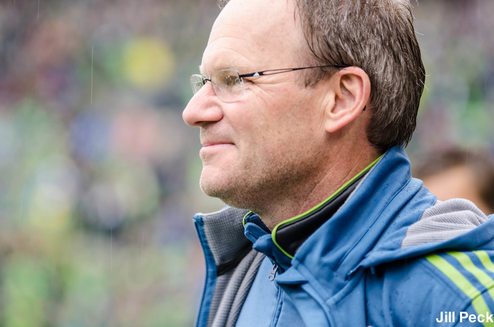 Coach Schmetzer Seattle Sounders FC
