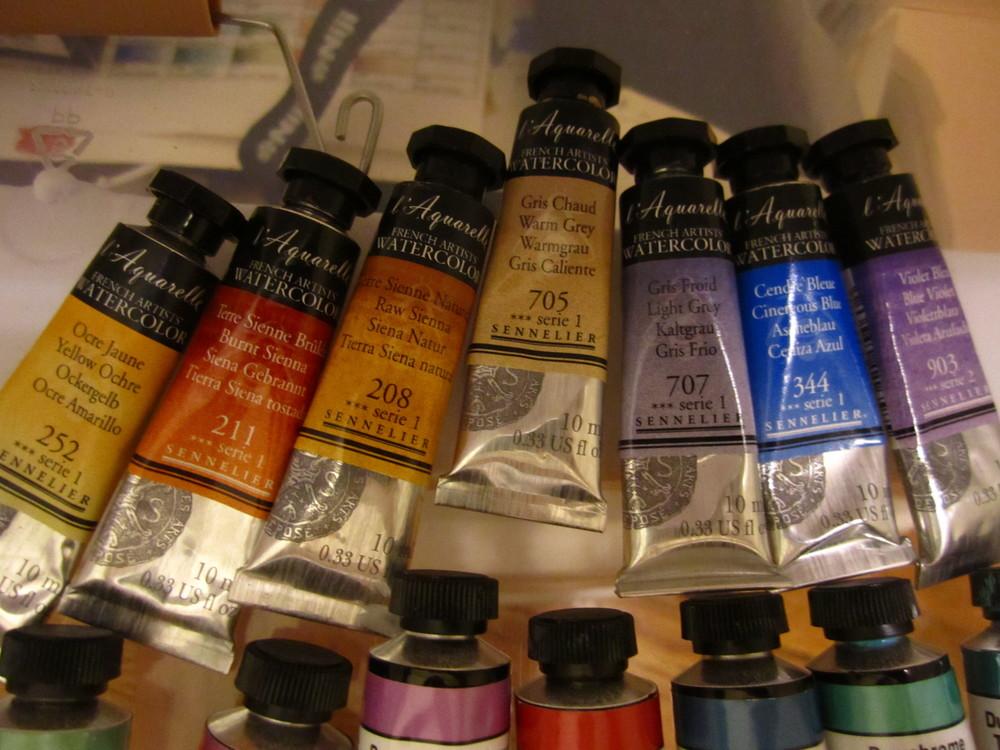 Sennelier waercolors