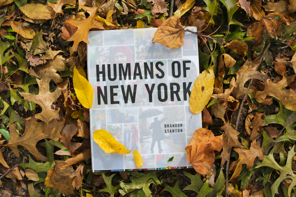Get your copy of  Humans of New York !