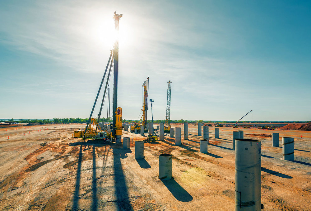 Inpex darwin for Piling Contractors