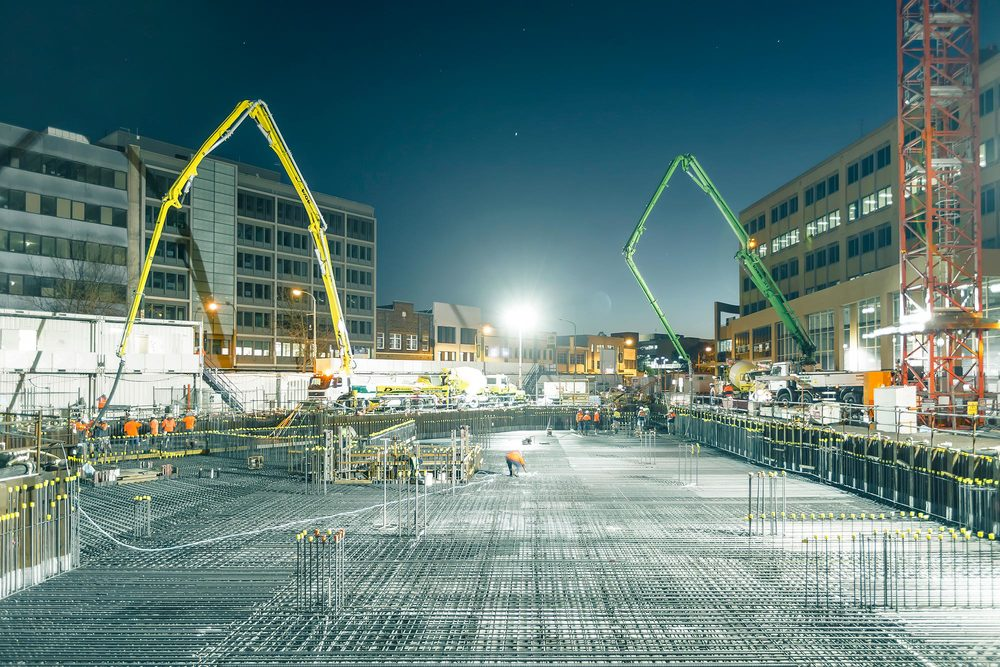 Newcastle Courthouse Concrete Pour