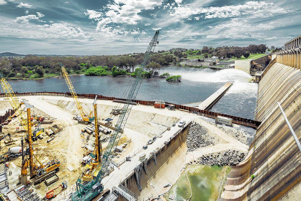 Hume Dam.