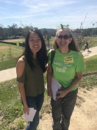 - Jessica Au - Honor Diamond Bar High School Student has donated numerous hours of volunteer hours, recruiting volunteers for work parties, promoting the Garden and monatary donations.