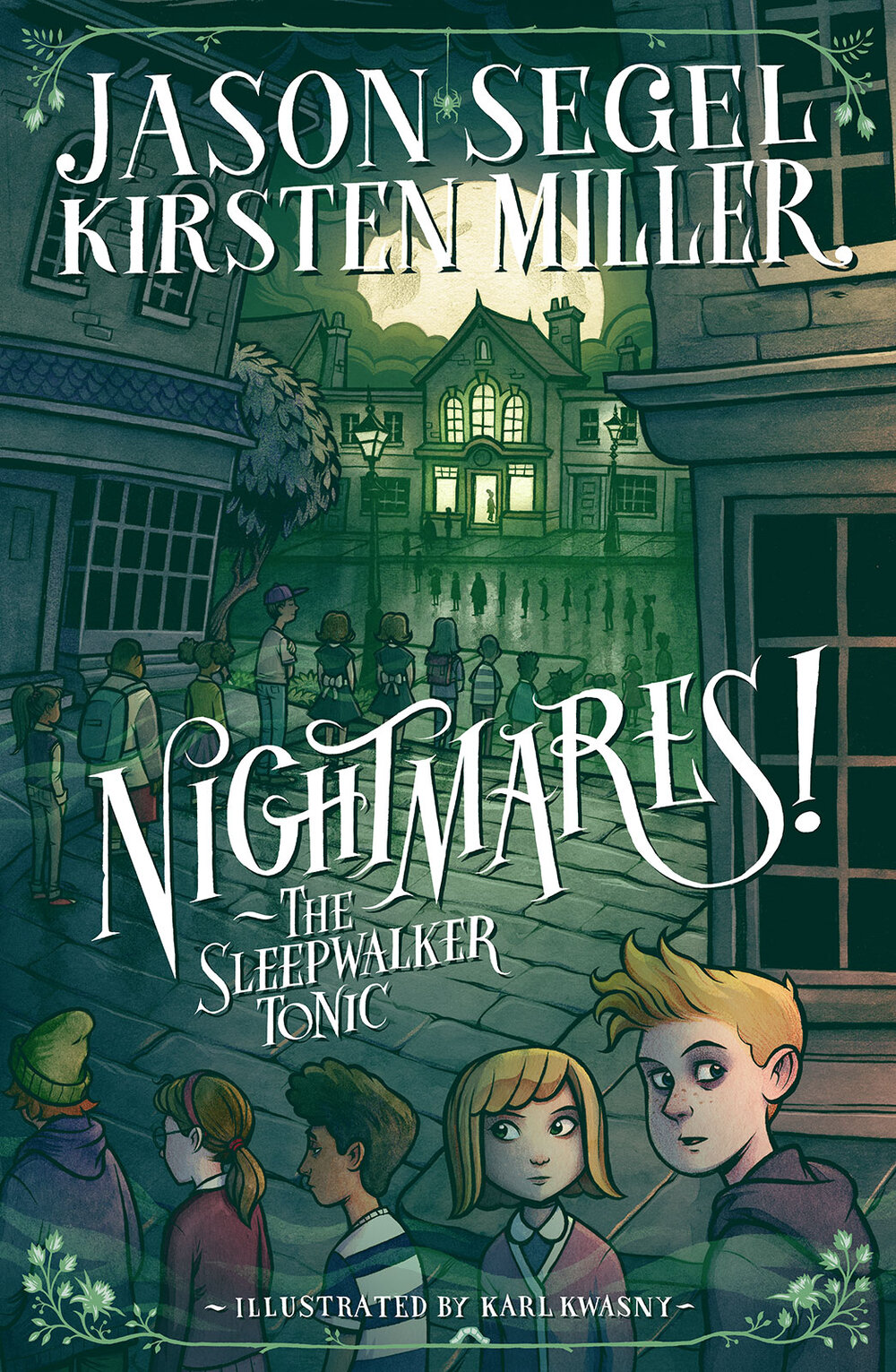 Cover for  Nightmares! II  by Jason Segel & Kirsten Miller