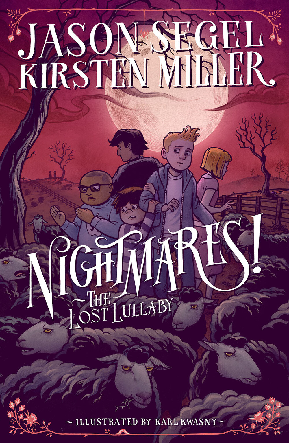 Cover for  Nightmares! III  by Jason Segel & Kirsten Miller