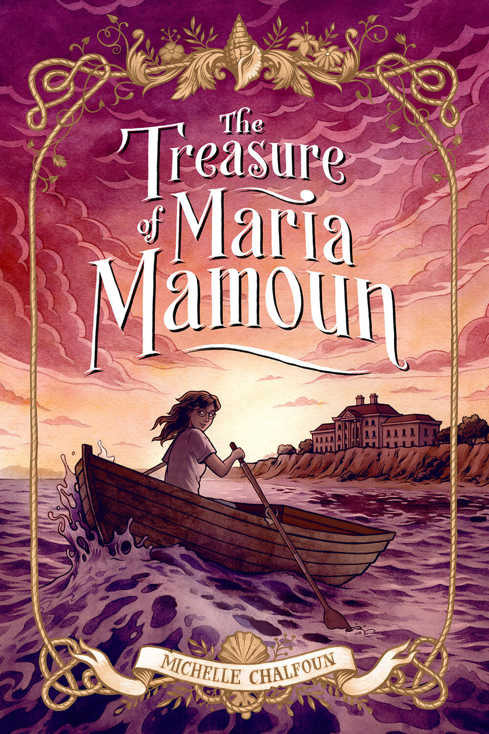 Cover for  The Treasure of Maria Mamoun  by Michelle Chalfoun
