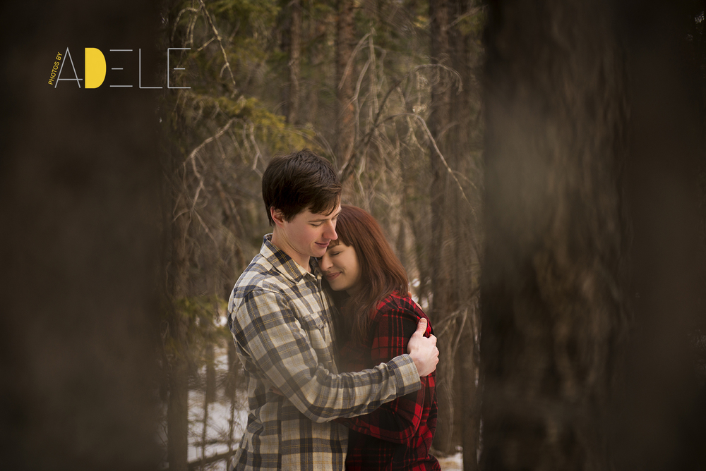 Calgary Wedding Photographer; Photos By Adele's Take On Winter W